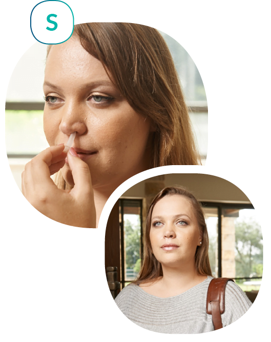 NozNoz Wearable Device in the nose- Easier to Eat Less
